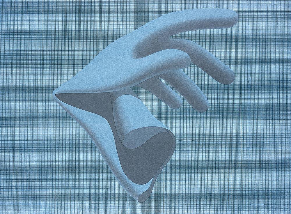 Winsor & Newton D, 2001 - 2003. Watercolor, graphite / paper. 57 x 77 cm