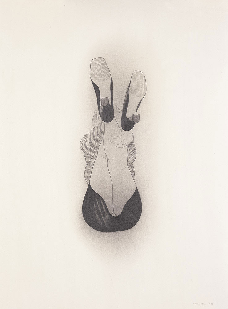 Braguita, 1998. Graphite / paper. 75 x 56 cm
