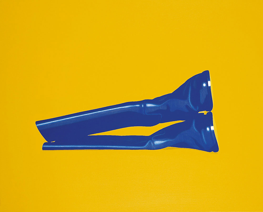 Safe Sex, 1997. Acrylic / canvas. 81 x 100 cm.