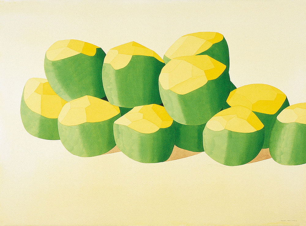 Fruponch, 1995-1996. Watercolor / paper. 56 x 76 cm