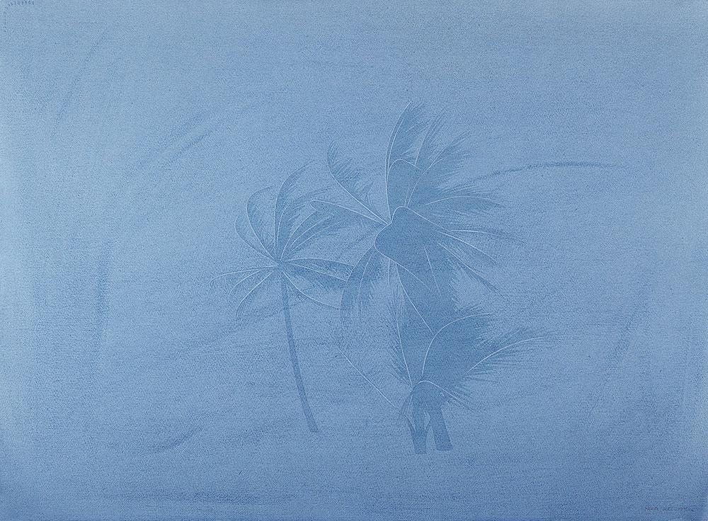 Lejos del manglar 1, 1995-1996. Watercolor / paper. 56 x 76 cm