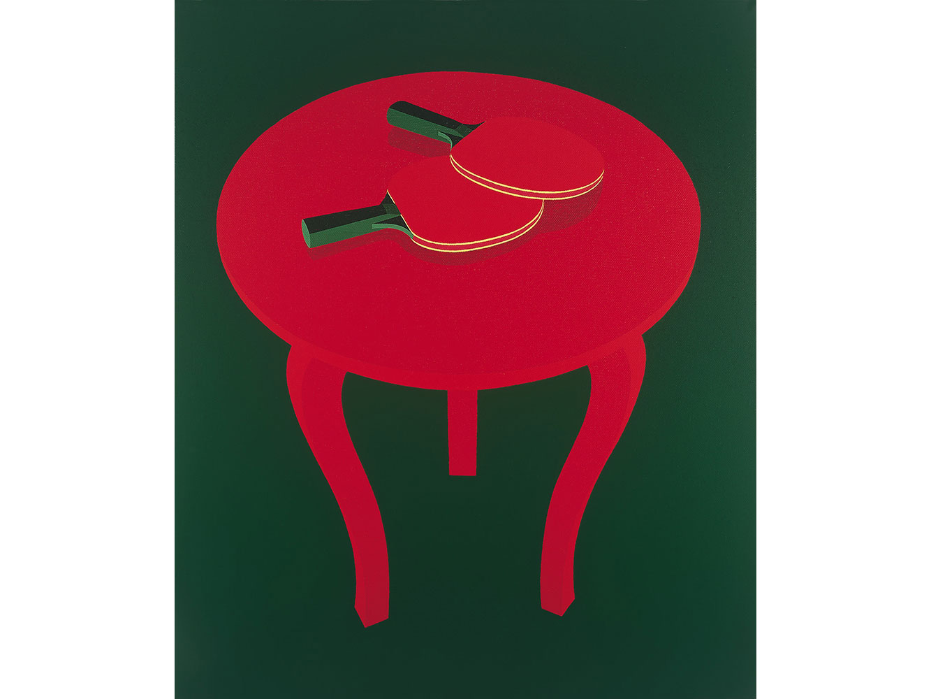 Prototipo 3, 1994. Acrylic / canvas. 55 x 45 cm