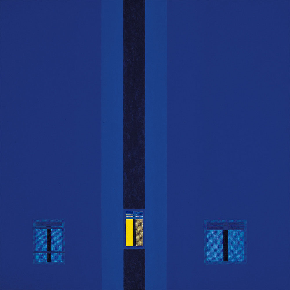 Nocturno, 1993. Acrylic / canvas. 55 x 55 cm