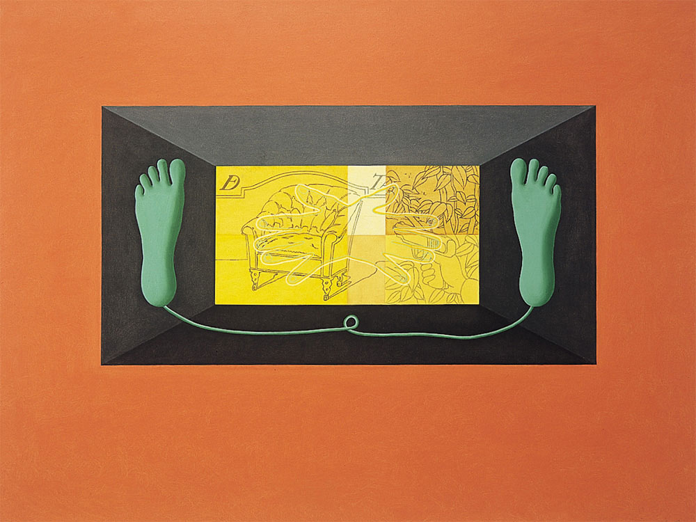 Untitled, 1988. Oil / canvas. 97 x 130cm