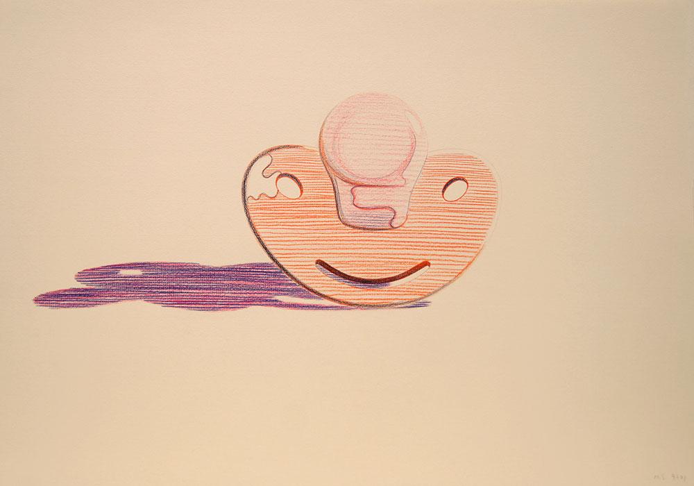 1997. Color pencil / paper, 35 x 50 cm