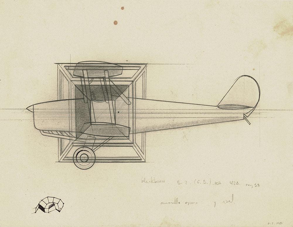 1987. Graphite / paper, 24 x 31 cm