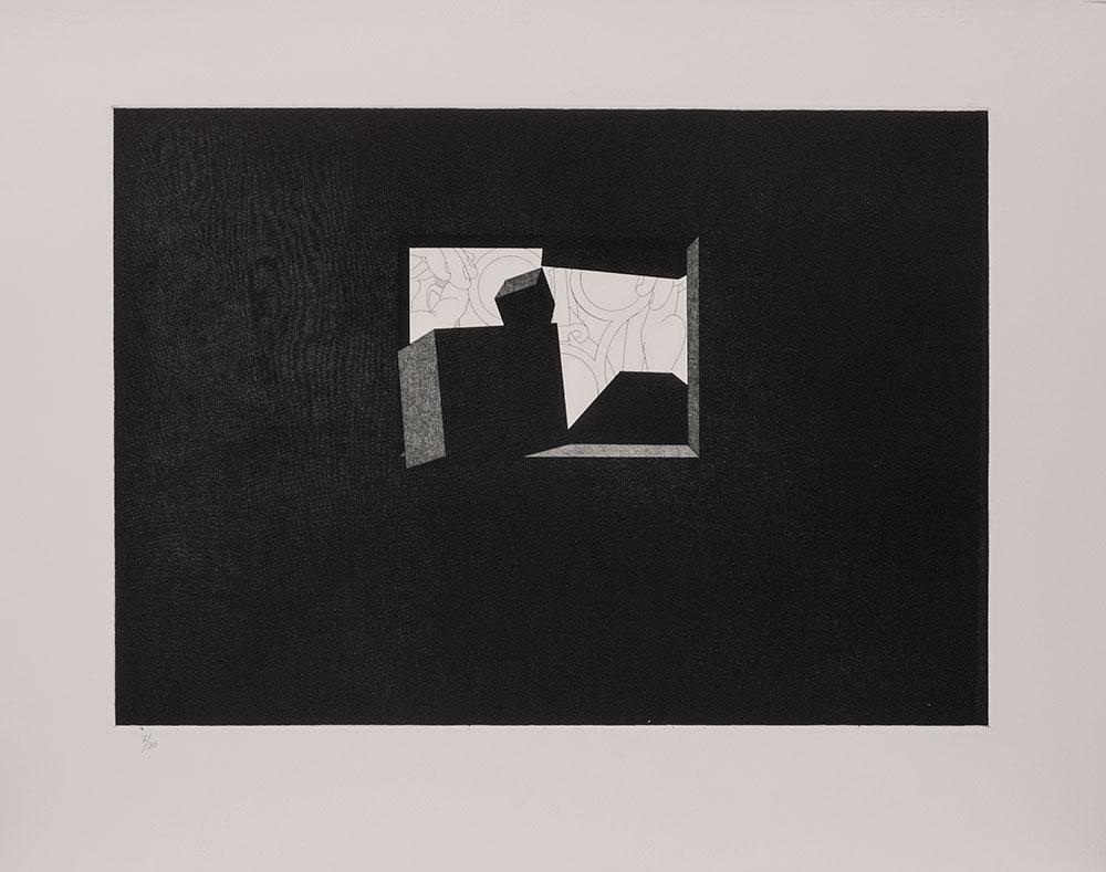 Biografía no autorizada 1991. Etching / paper, 70 x 88,5 cm