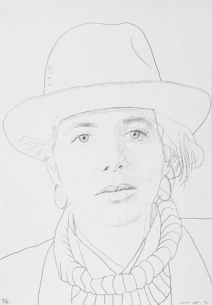 Bárbara 1994. Lithography / paper 47,5 x 32,5 cm