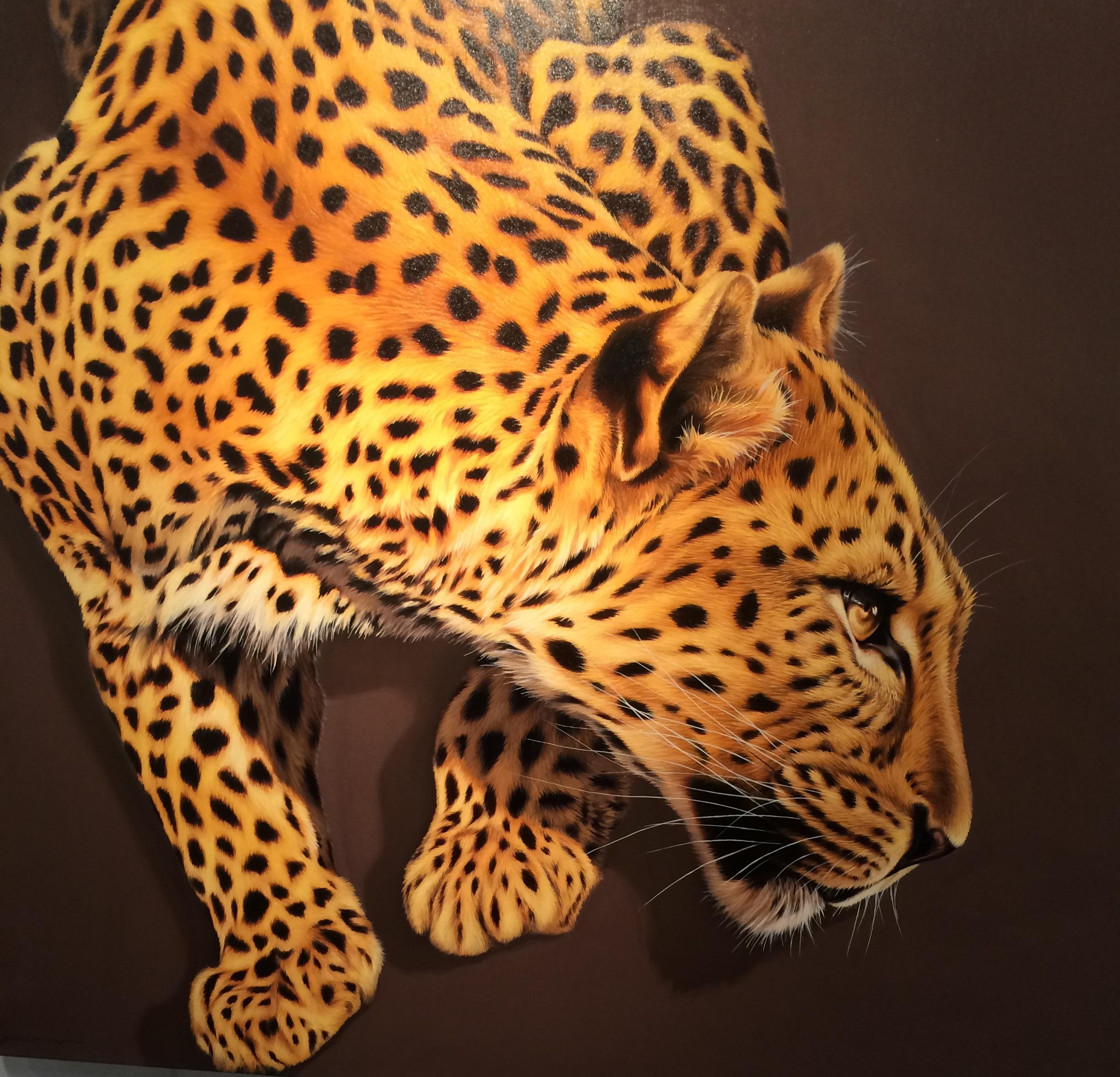 afforable art fair big cat