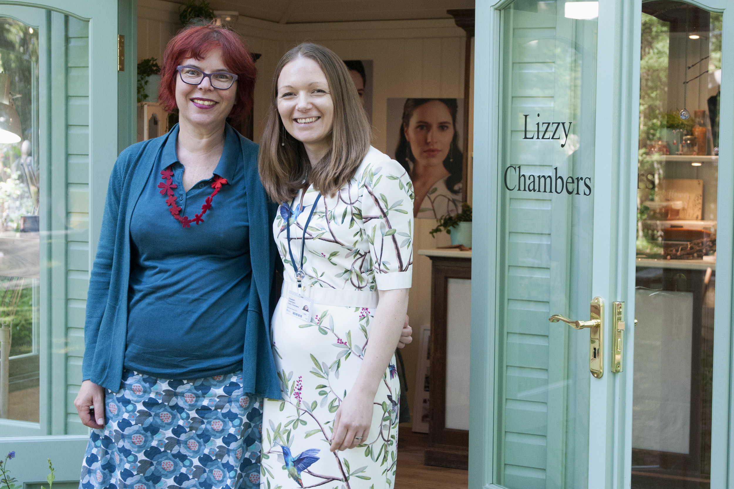 Lizzy Chambers with Patricia from The Design Trust.jpg