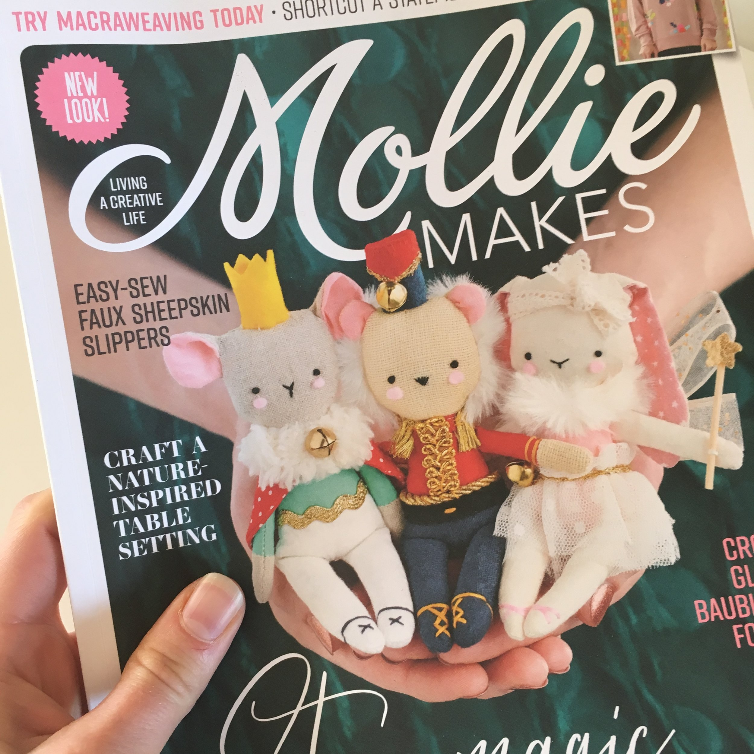 Front cover of Mollie Makes issue #99