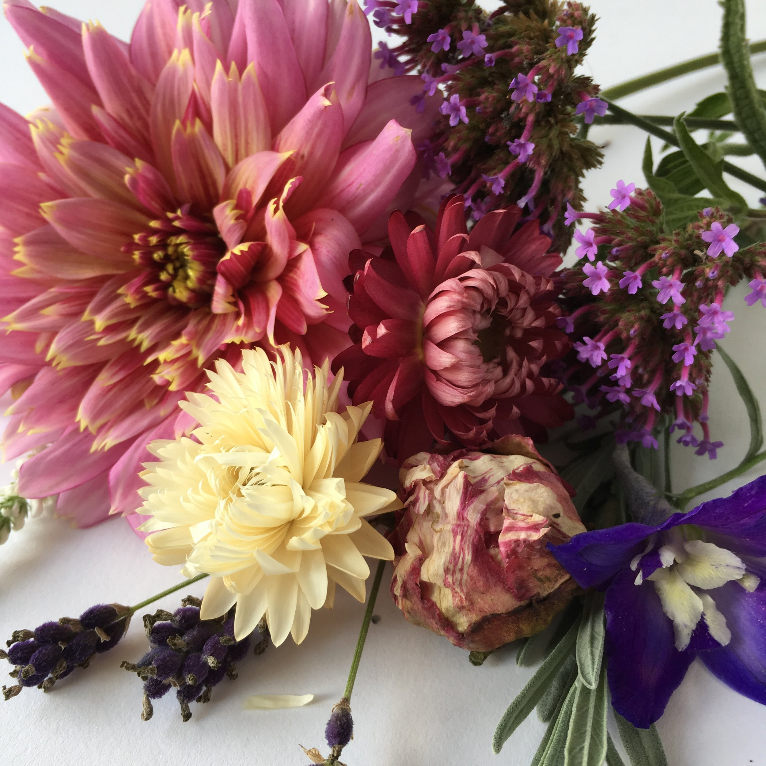 Custom Lizzy Chambers Britsh Flower Jewellery