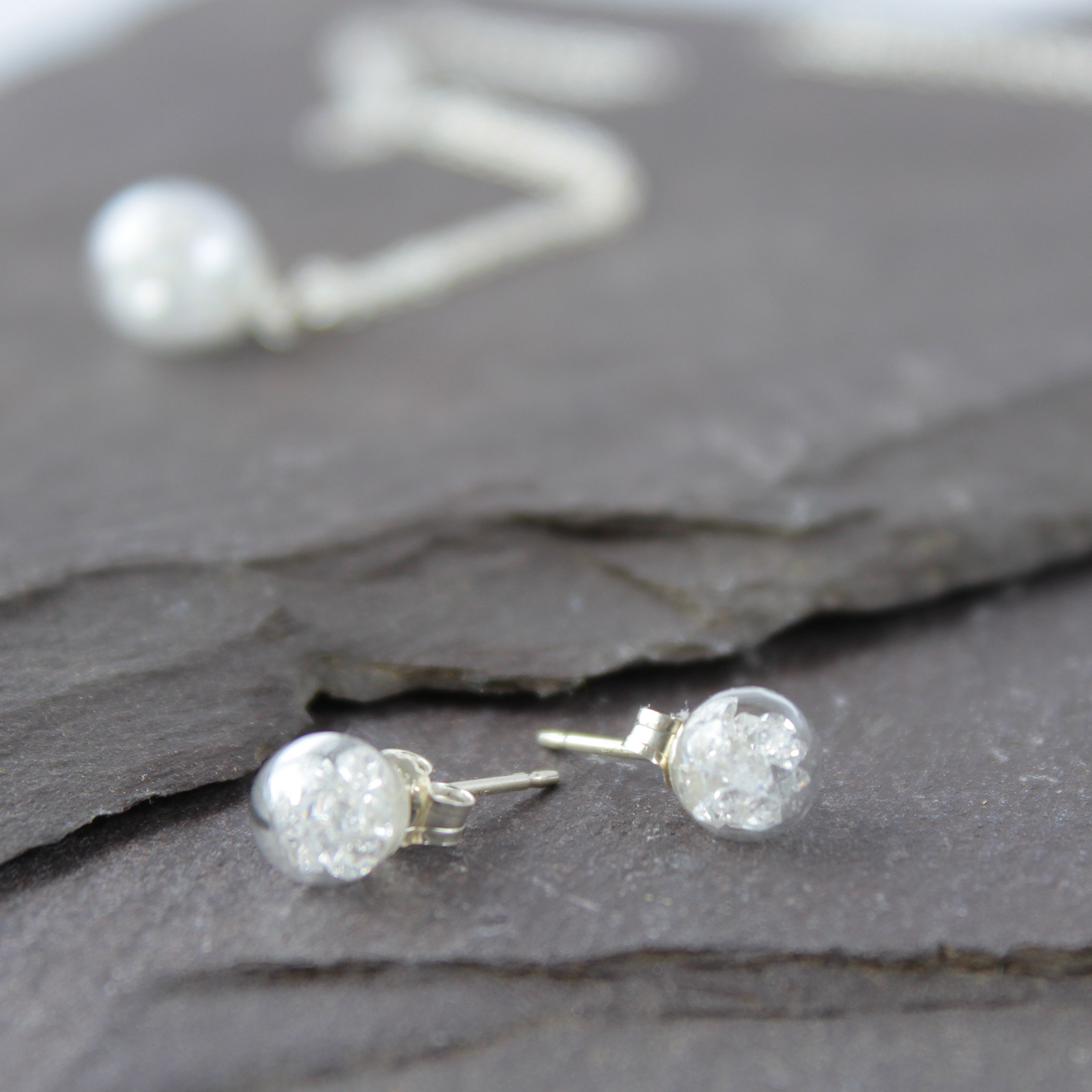 Crystal Collection - Made with Tiny Diamond Cut Crystals