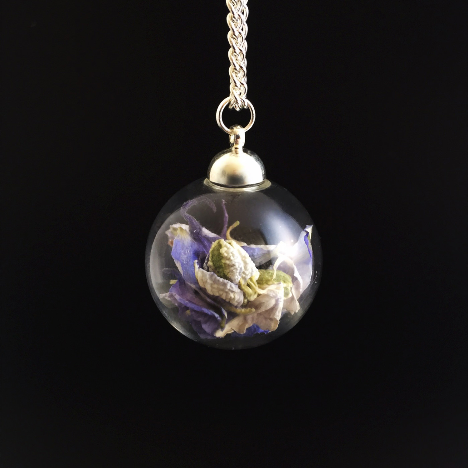 Statement Necklaces - Large Glass Sphere