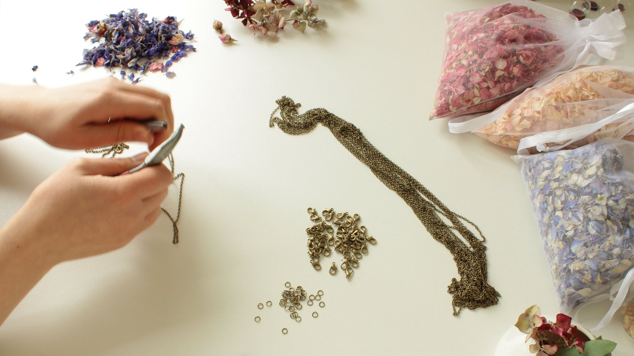 Your jewellery repairs - Lizzy can repair your items as she handcrafts your pieces