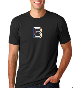3600 Next Level Black Tee  Mens B Logo.png