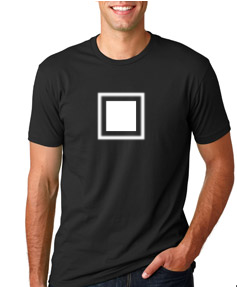 3600 Next Level Black Tee  Mens with White Square logo.png