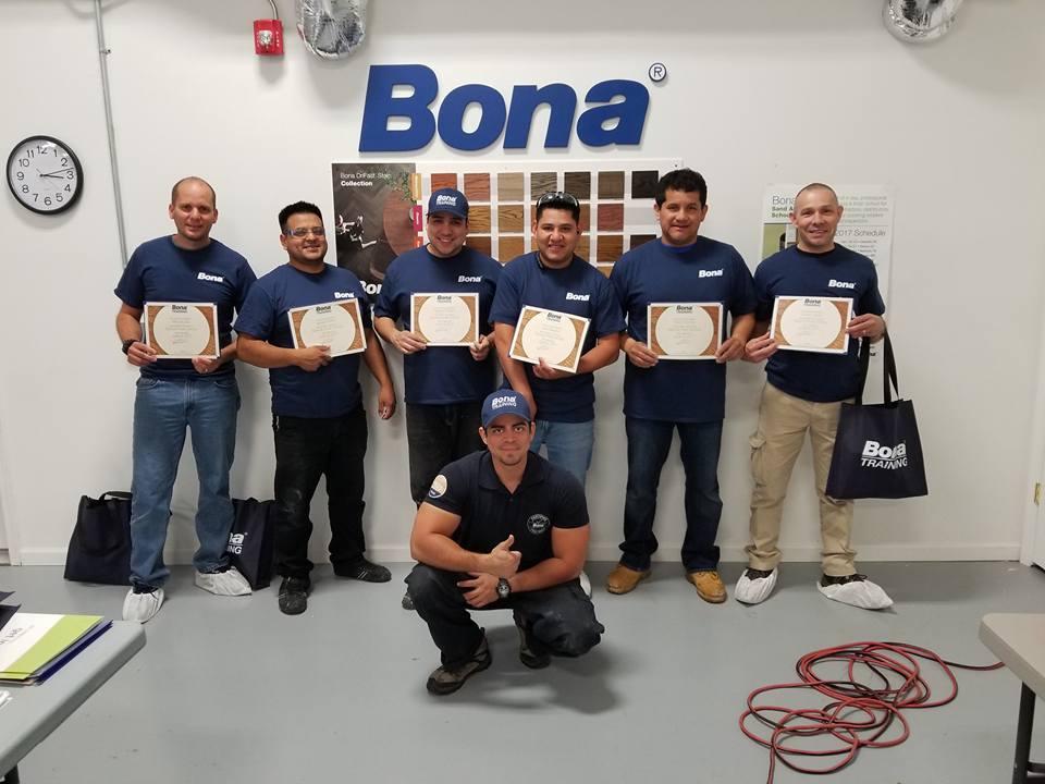 Henry Lopez at the BONA Training Facility in Manalapan, NJ