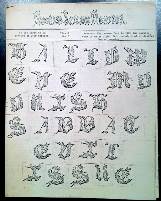 Vol 1. No. 2 (1966?)