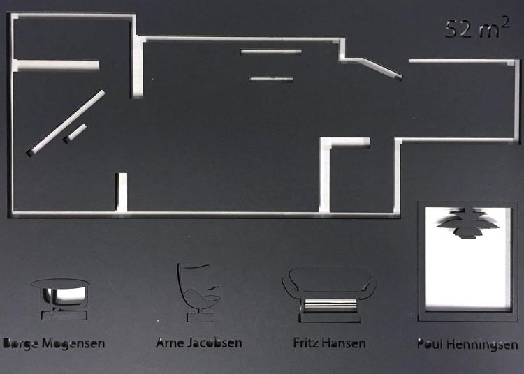 Typical danish design furniture