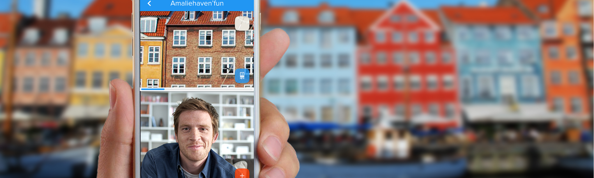 """CITY WINDOW - A live-streaming service that allows tourists to experience a short """"micro tour"""", guided remotely by a local"""