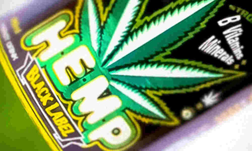 Hemp Energy Drink Black Label