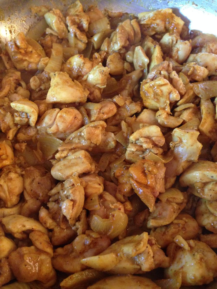 paleo chicken curry 1
