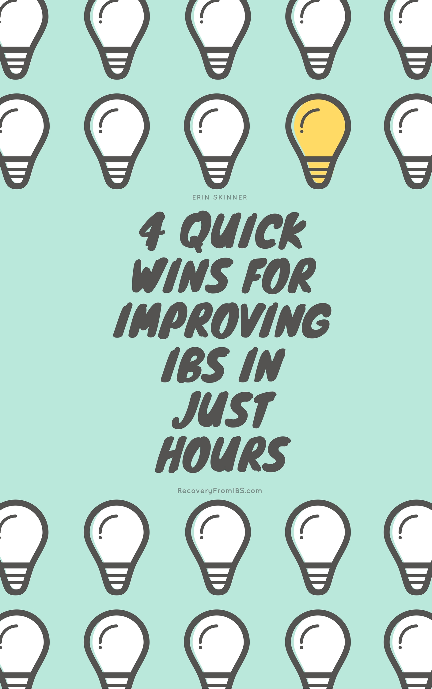 Bonus! - If you have IBS or digestive woes, don't miss my FREE list of quick wins. It's your ticket to make some simple swaps that get you quick improvment.