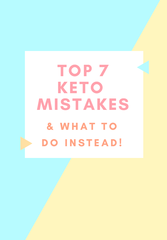 Want to be successful with keto? - Don't miss my FREE guide to the most common keto mistakes and what to do instead!