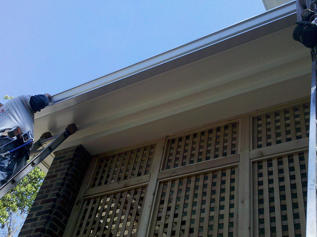 Gutter installation in Chevy Chase, Maryland