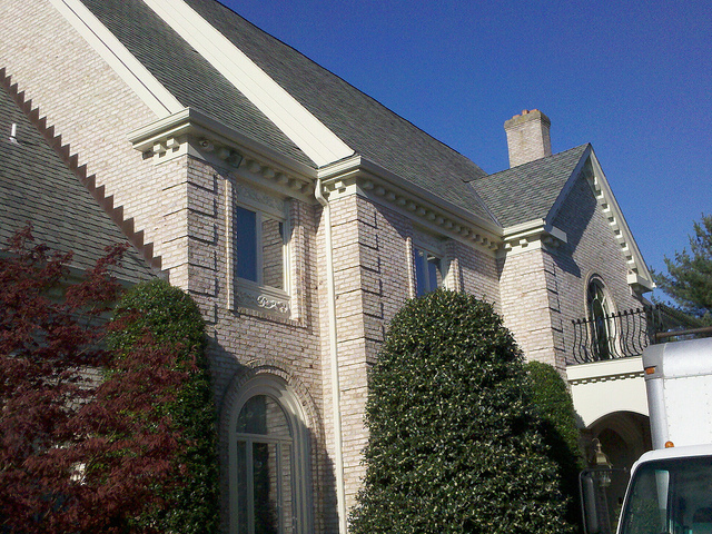 Gutter covers installed in Potomac, Maryland