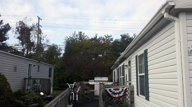 Re-secure of spiked gutter in Laurel, Maryland