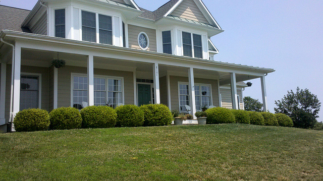 Gutters and downspouts in Adamstown, Maryland