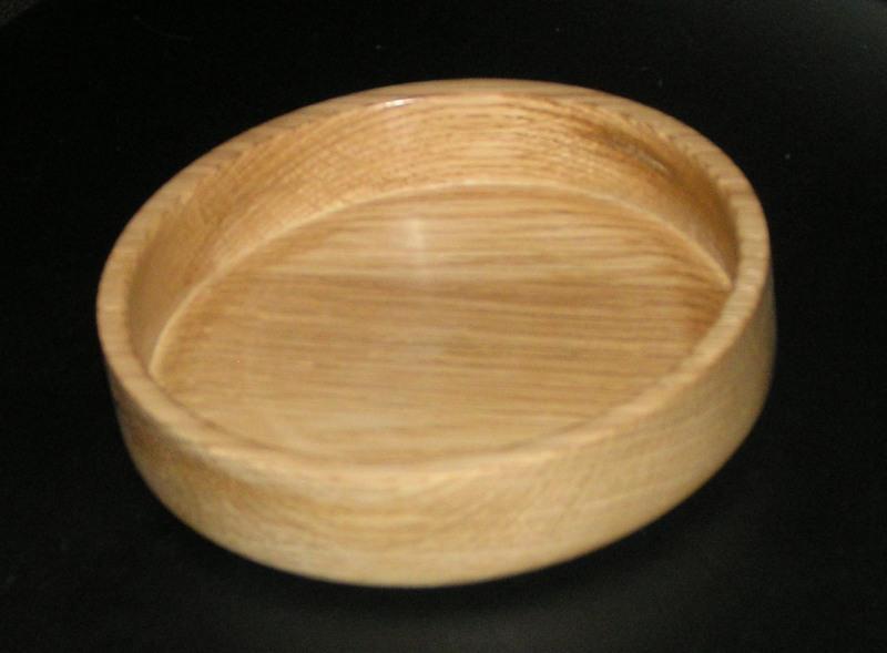 Small oak dish