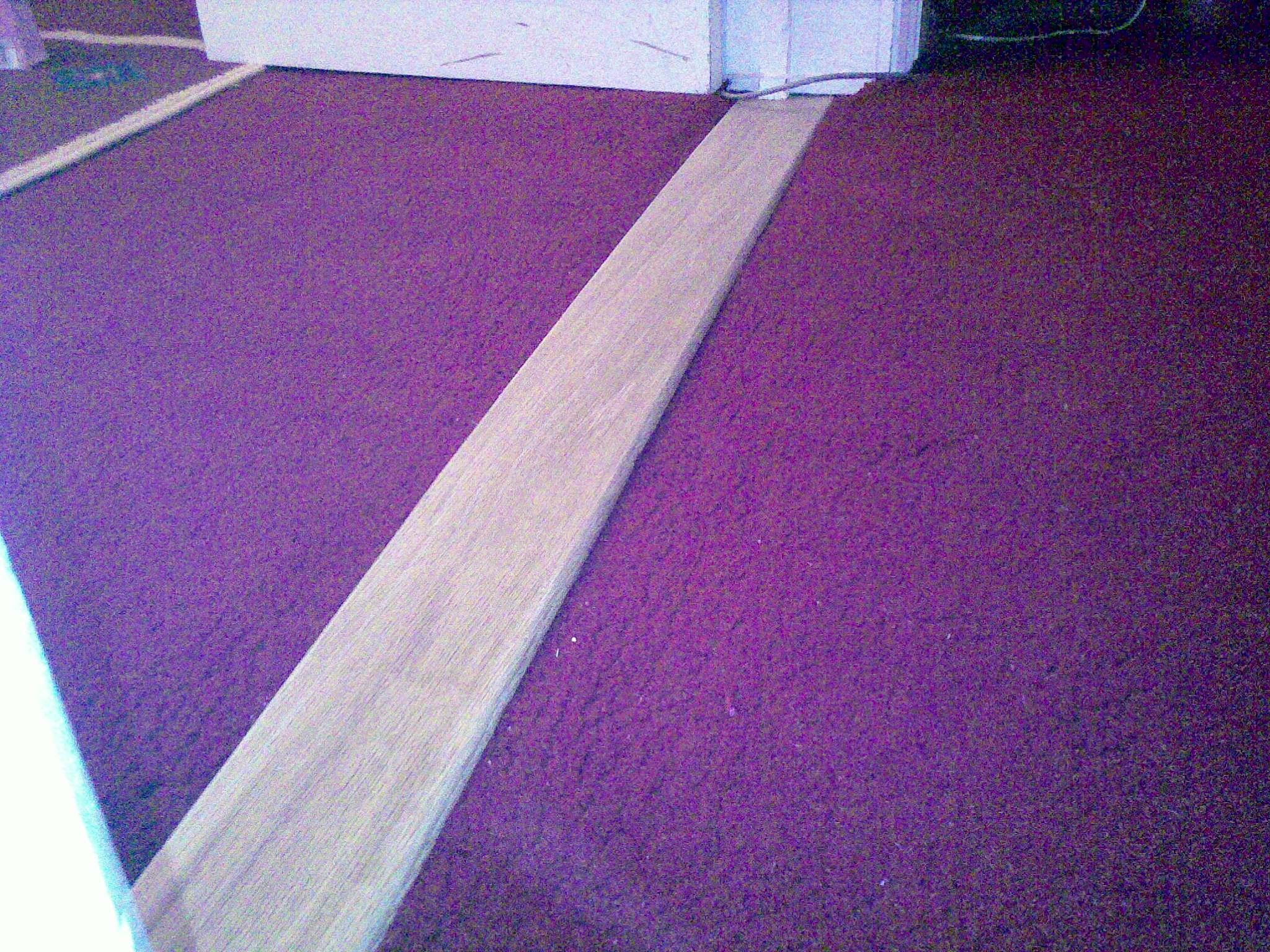 Oak treadboard