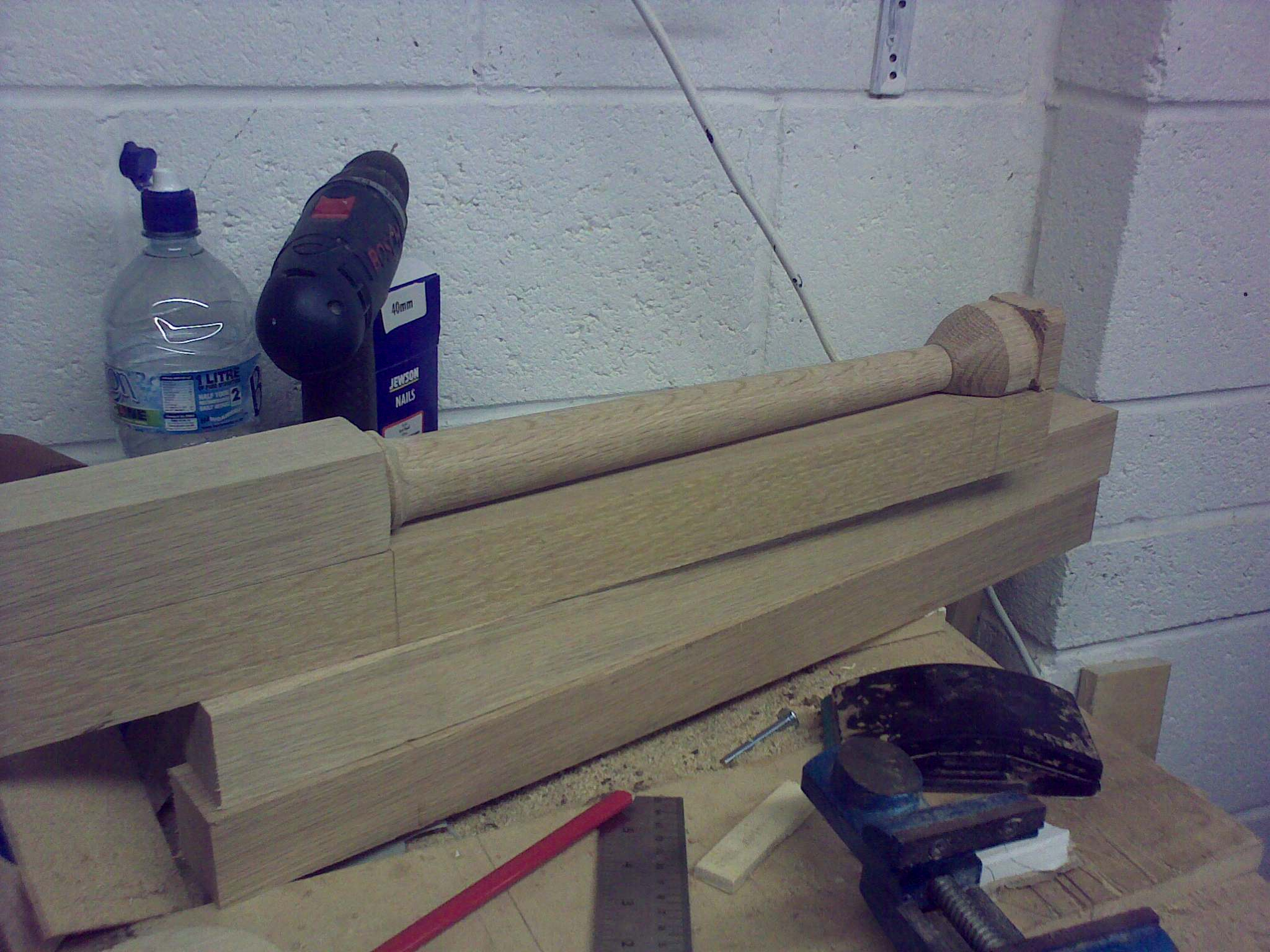 table legs turned and blanks