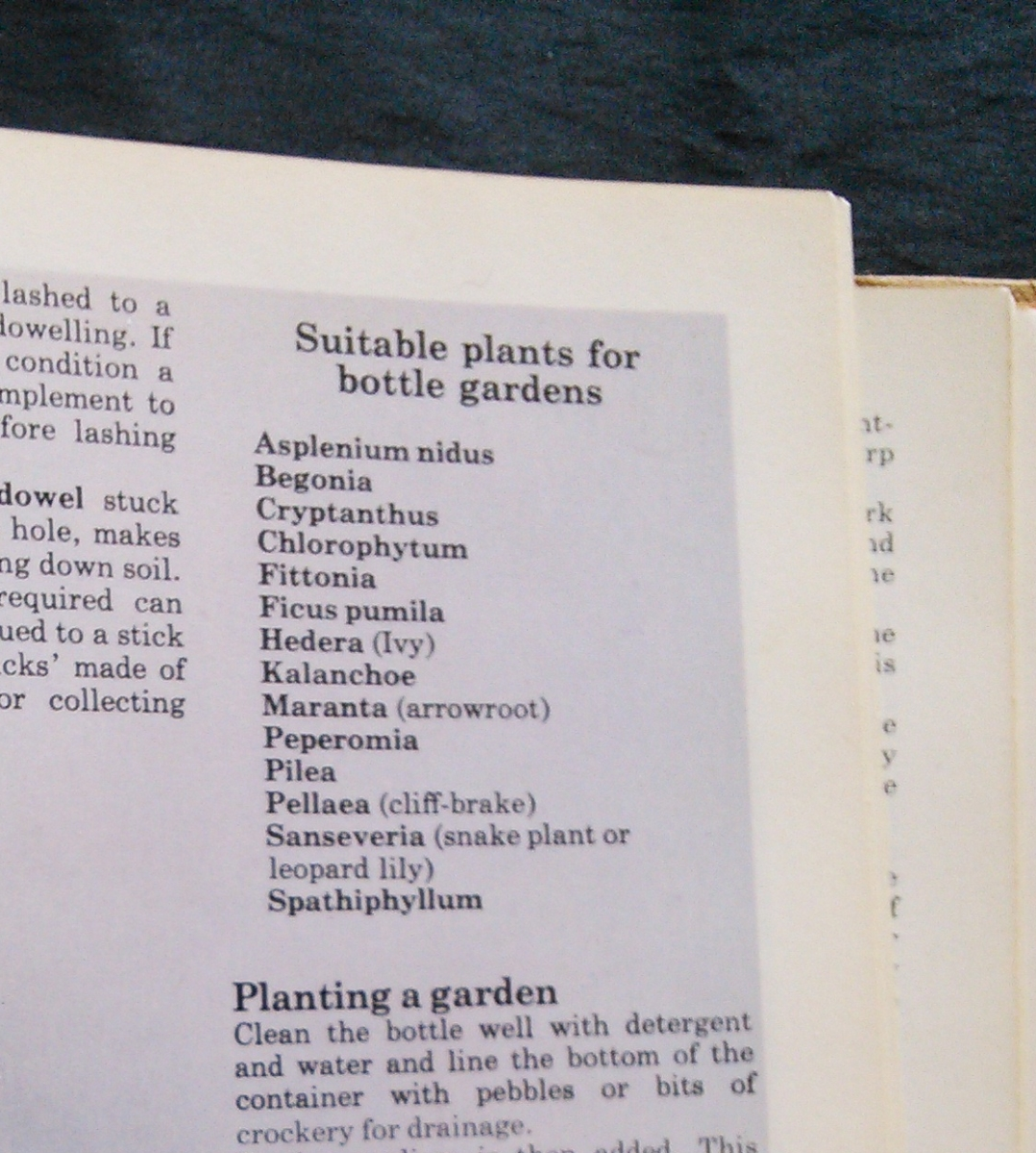 Though my 'Complete Crafts' book published in 1977 does offer this advice