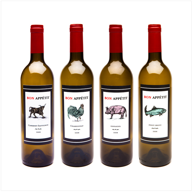 CUSTOM BRANDED WINE LABELS