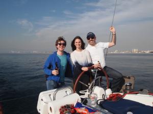 BFG sailing adventure in Santa Monica Bay (January 2015).