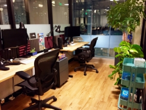 The new BFG offices in downtown Santa Monica.