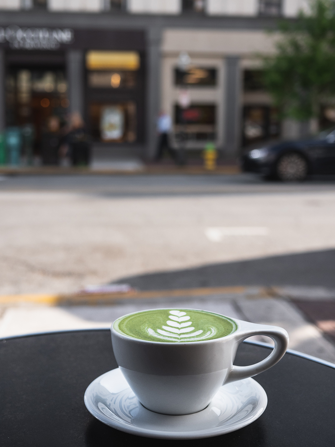 I say matcha you say latte … matcha … latte!