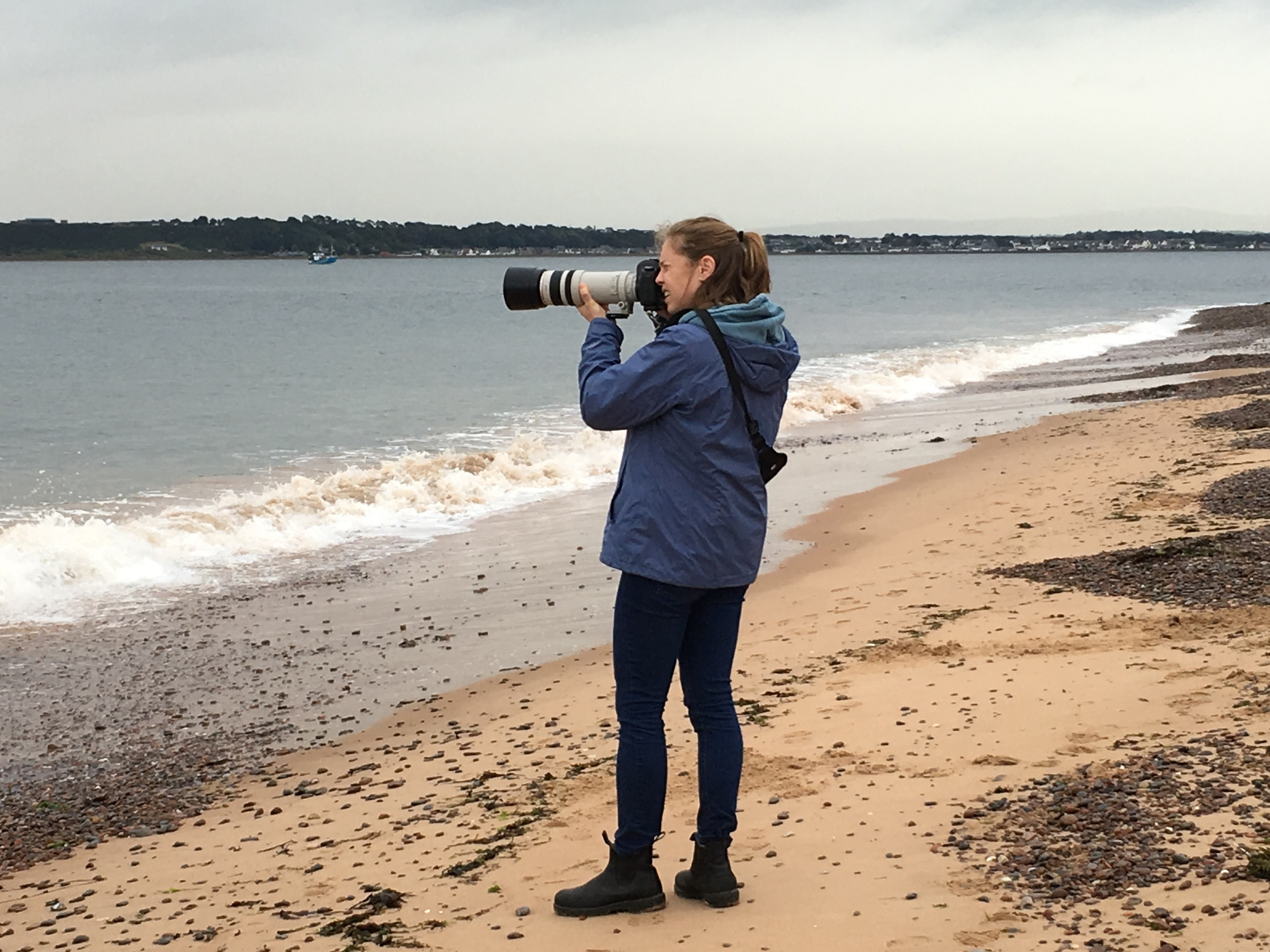 Me at Chanonry Point in Inverness, Scotland.