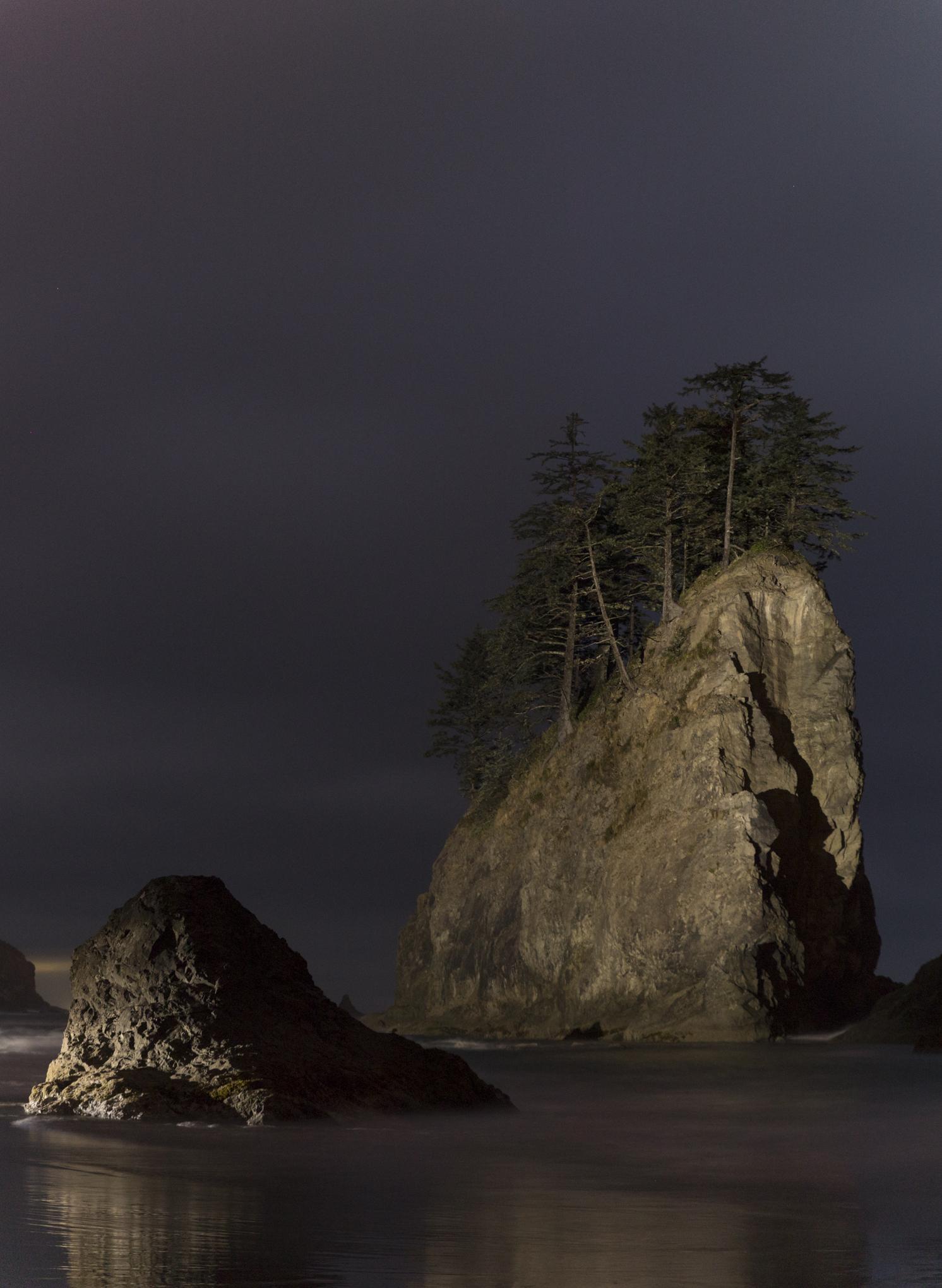 Sea Stacks Illuminated