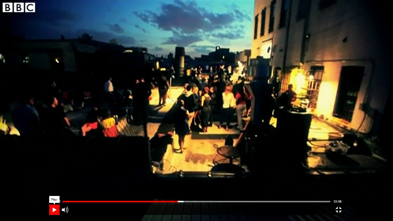 BBC Broadcast  from  Rooftop Concert  at Mothership's Deck: August 5, 2013