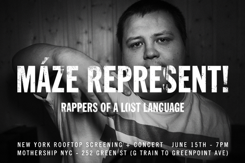 NOoSPHERE Arts  Presents:  VIKING RAPPERS SCREENING PARTY &    ROOFTOP CONCERT   :  June 15, 2013
