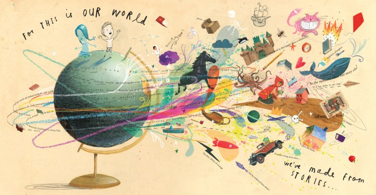 Oliver Jeffers , A Child Of Books