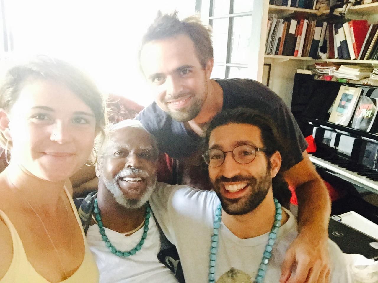 Francois with Eyal, Sabina and Erik.jpg