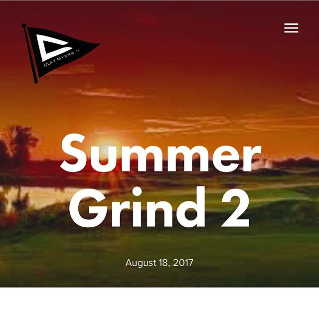 The grind don't stop. Check out my latest journal to see what I've been up to over the summer, other than getting 👨🏿👨🏿. Link in Bio. #ItsBeenHot #ClayMyersGolfLLC