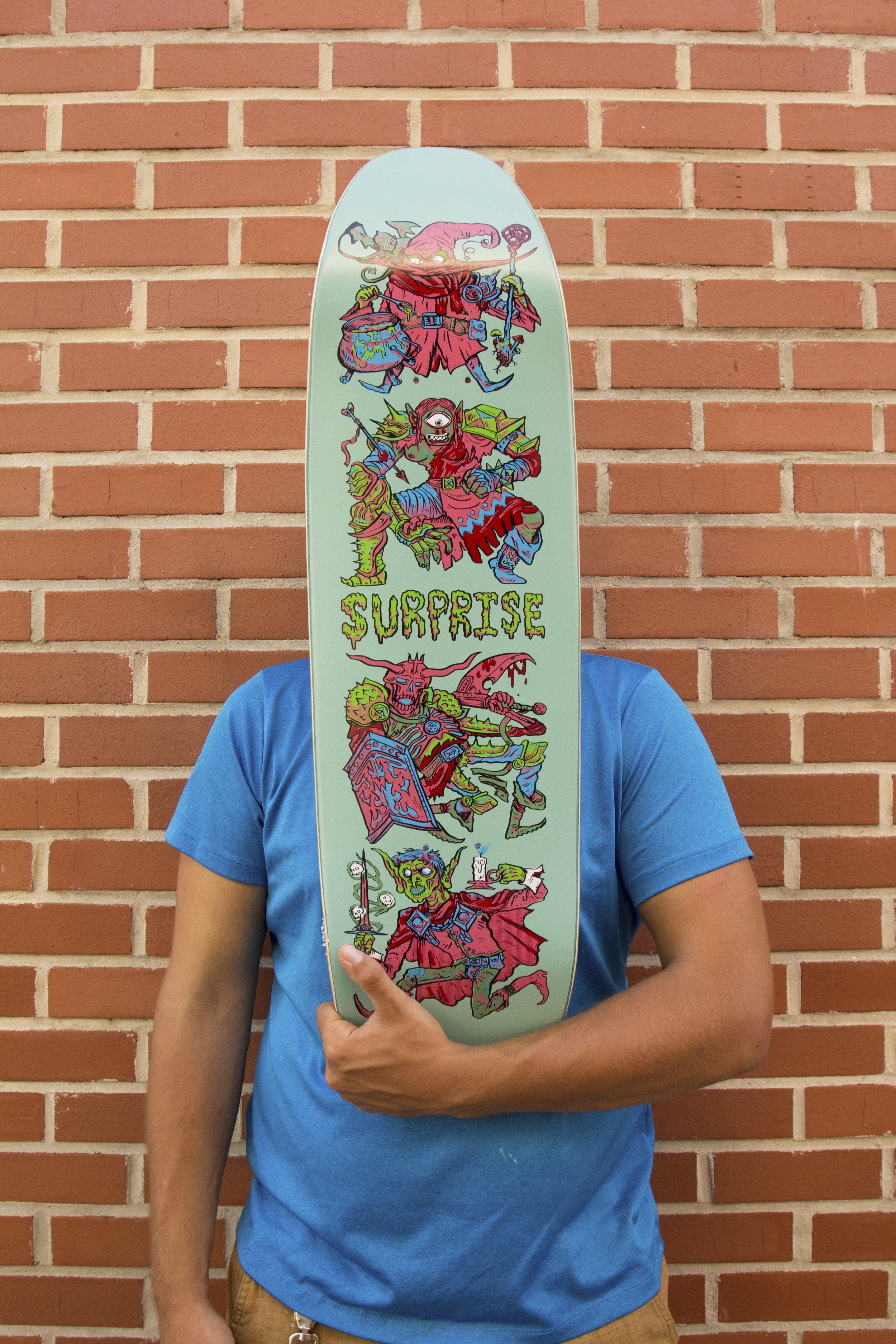 SurpriseSkate Skateboard Deck