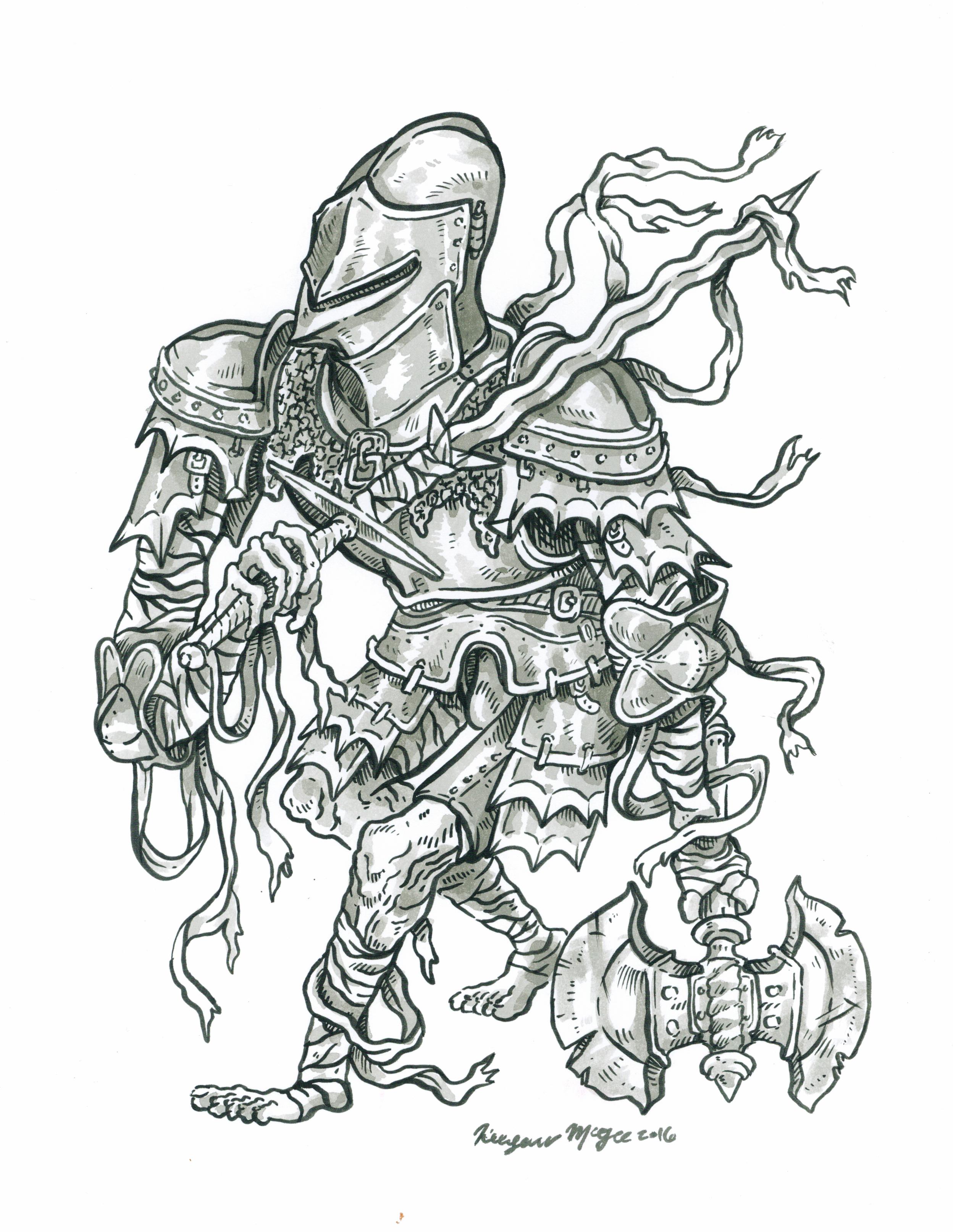 Mummy Knight